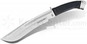 United Cutlery Honshu Boshin Bowie Knife 15.25 inch Overall, Rubberized Handle