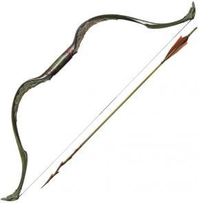 United Cutlery Hobbit Tauriel Elven Bow and Arrow 48 inch Overall (UC3031)