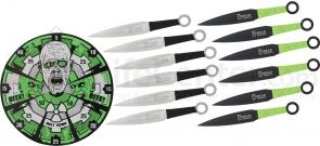 United Cutlery Zombie Meltdown Neon Target & Throwing Set (XL1530)