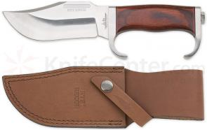 Gil Hibben HTF Recon Hunting Knife 5-1/4 inch Blade and Leather Sheath
