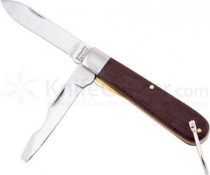 Utica Electrician's Knife 3-3/4 inch 2-Blade, Delrin Handles