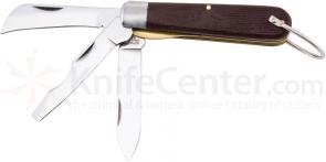 Utica Electrician's Knife 3-3/4 inch 3-Blade, Delrin Handles