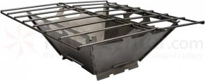 Vargo Titanium Fire Grill Box (T-433) For Barbeque and Meals