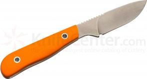 White River Knives Scout Fixed 2.5 inch S30V Blade, Smooth Orange G10 Handle, Kydex Sheath