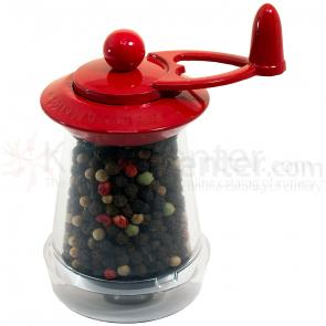 William Bounds Key Mill WB-1 Pepper Mill, Red