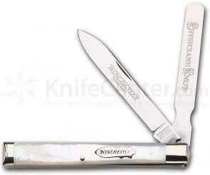 Winchester Doctor's Knife Two Blade with Mother of Pearl Handles 3 5/8 inch
