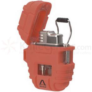 Windmill Delta (Blaze Orange) Shockproof / Stormproof Butane Lighter