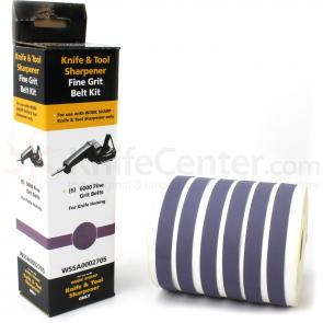 Work Sharp WSKTS 6000 Fine Grit Belt Kit, 6 Pack (WSSA0002705)