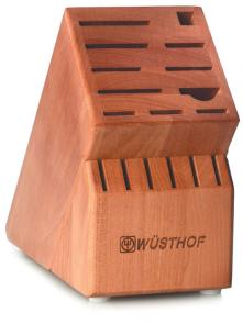 Wusthof 17-Slot Cherry Knife Block