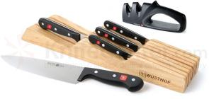 Wusthof Gourmet 6 Piece In-Drawer Set and Sharpener