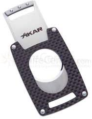 XIKAR Xi Ultra Slim Cigar Cutter - Carbon Fiber