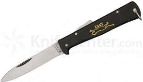 Mercator Solingen K55 Black Cat Knife German, Stainless Steel, Army Issue