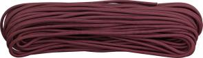 550 Paracord, Maroon, Nylon Braided, 100 Feet