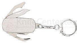 Stainless Engravable Keychain Knife 1-3/4 inch Closed