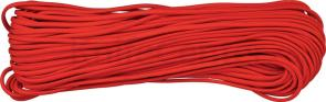 550 Paracord, Red, Nylon Braided, 100 Feet