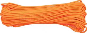 550 Paracord, Neon Orange, Nylon Braided, 100 Feet