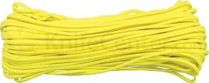 550 Paracord, Yellow, Nylon Braided, 100 Feet