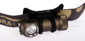 ZebraLight H31FW CR123A Flood Headlamp, XP-G Neutral White LED, 180 Max Lumens