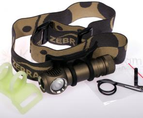 ZebraLight H51FC AA Flood Headlamp, LUXEON Rebel LED, 123 Max Lumens