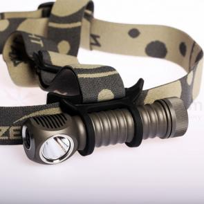 ZebraLight H600W Mk II 18650 Headlamp, XM-L2 Neutral White LED, 1020 Max Lumens