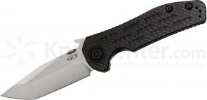 Zero Tolerance Emerson 0620CF Folding Knife 3.6 inch M390 Blade, Carbon Fiber and Titanium Handle