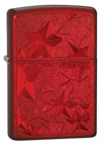 Zippo Iced Stars Candy Apple Red Classic