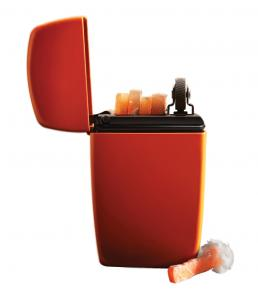Zippo Orange Matte Emergency Fire Starter
