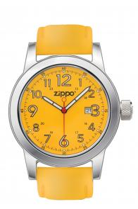 Zippo Watch Yellow Face / Yellow Leather Band