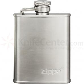 Zippo Stainless Steel Flask, 3 oz.